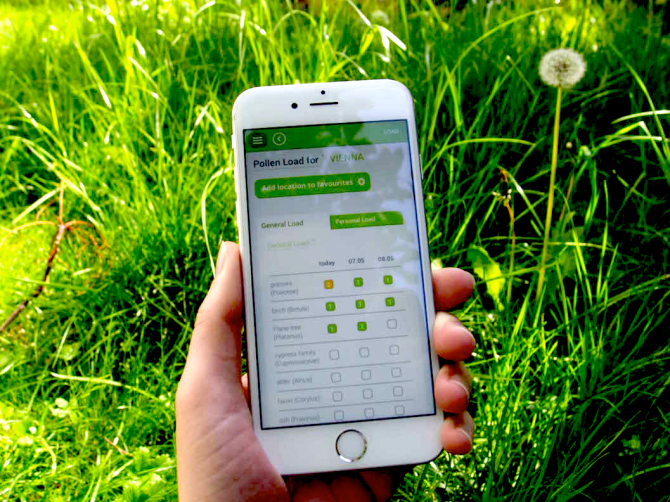 mobile applications for allergy sufferers