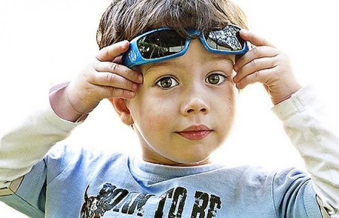 Солнцезащитные очки для ребенка - Likar.Info 63e9c236a18